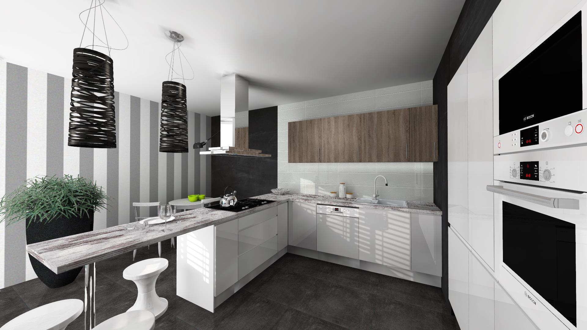 Funkcjonalna kuchnia, projektowanie kuchni, kuchnia, design, projekty Aranża   -> Funkcjonalna Kuchnia Zdjecia