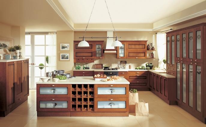 Kuchnia W Stylu Klasycznym Funkcjonalna Kuchnia