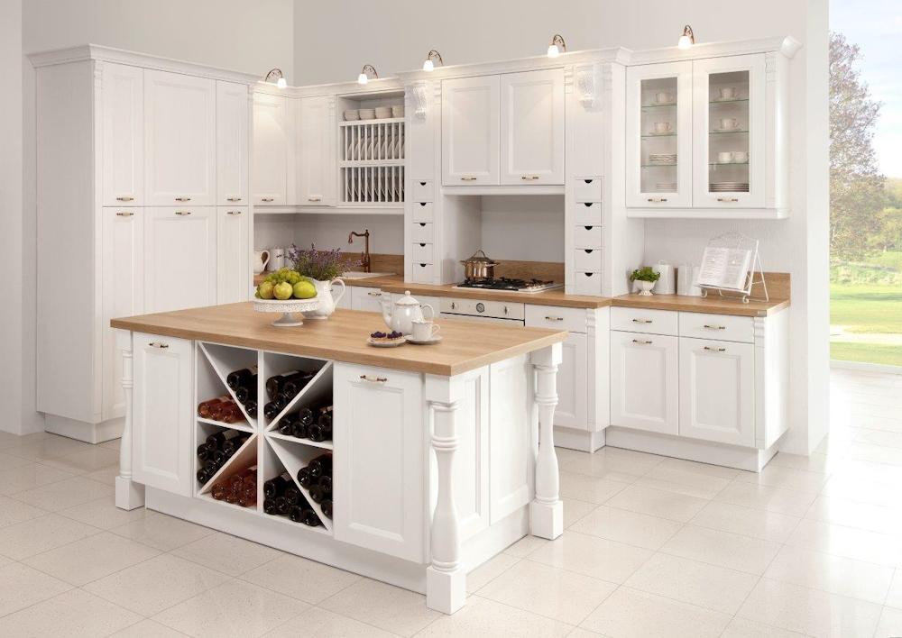 Biała kuchnia  Funkcjonalna kuchnia, projektowanie kuchni   -> Kuchnia Minimalistyczna Biala