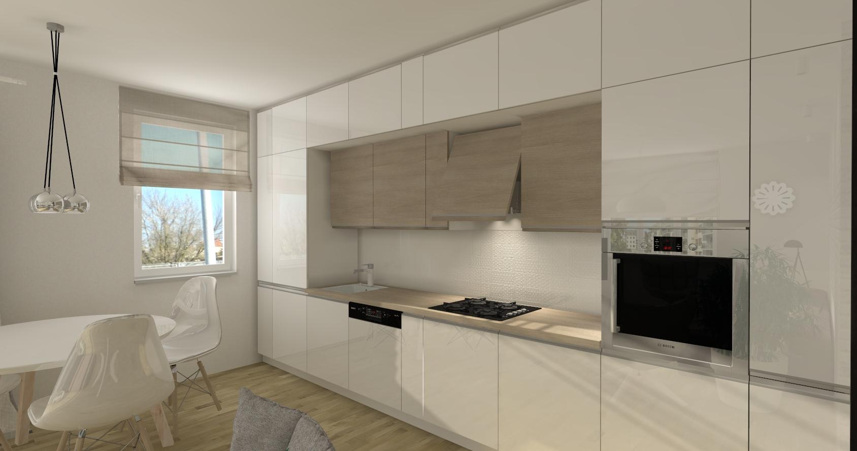 projektowanie kuchni dla singla funkcjonalna kuchnia